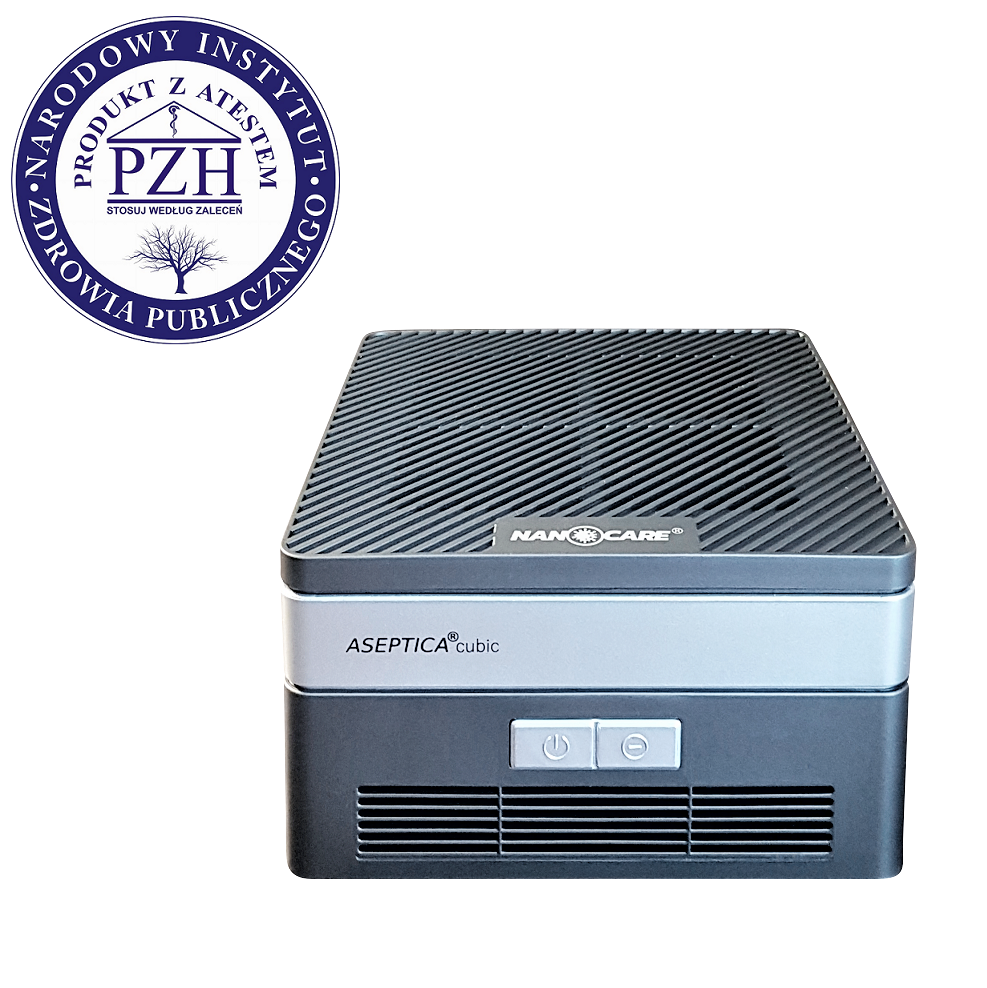 Aseptica Cubic – Oczyszczacz powietrza