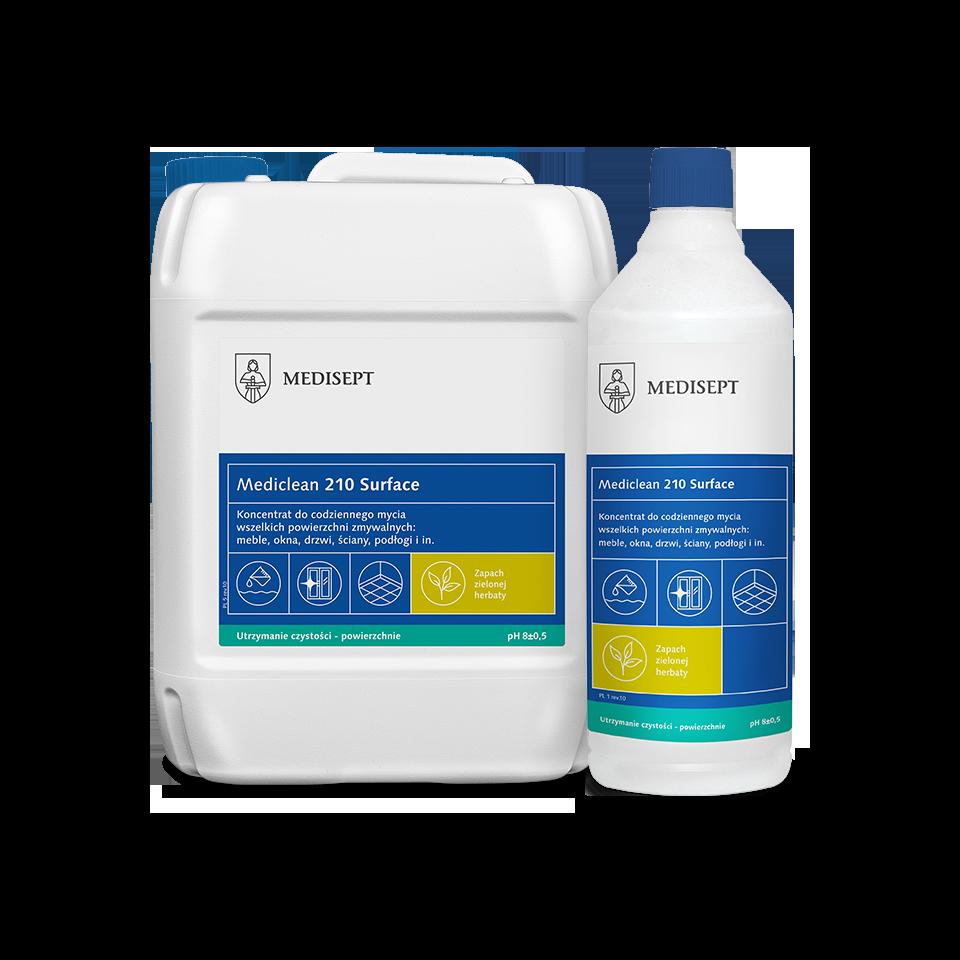 Mediclean 210 Surface – Preparat do codziennego mycia powierzchni