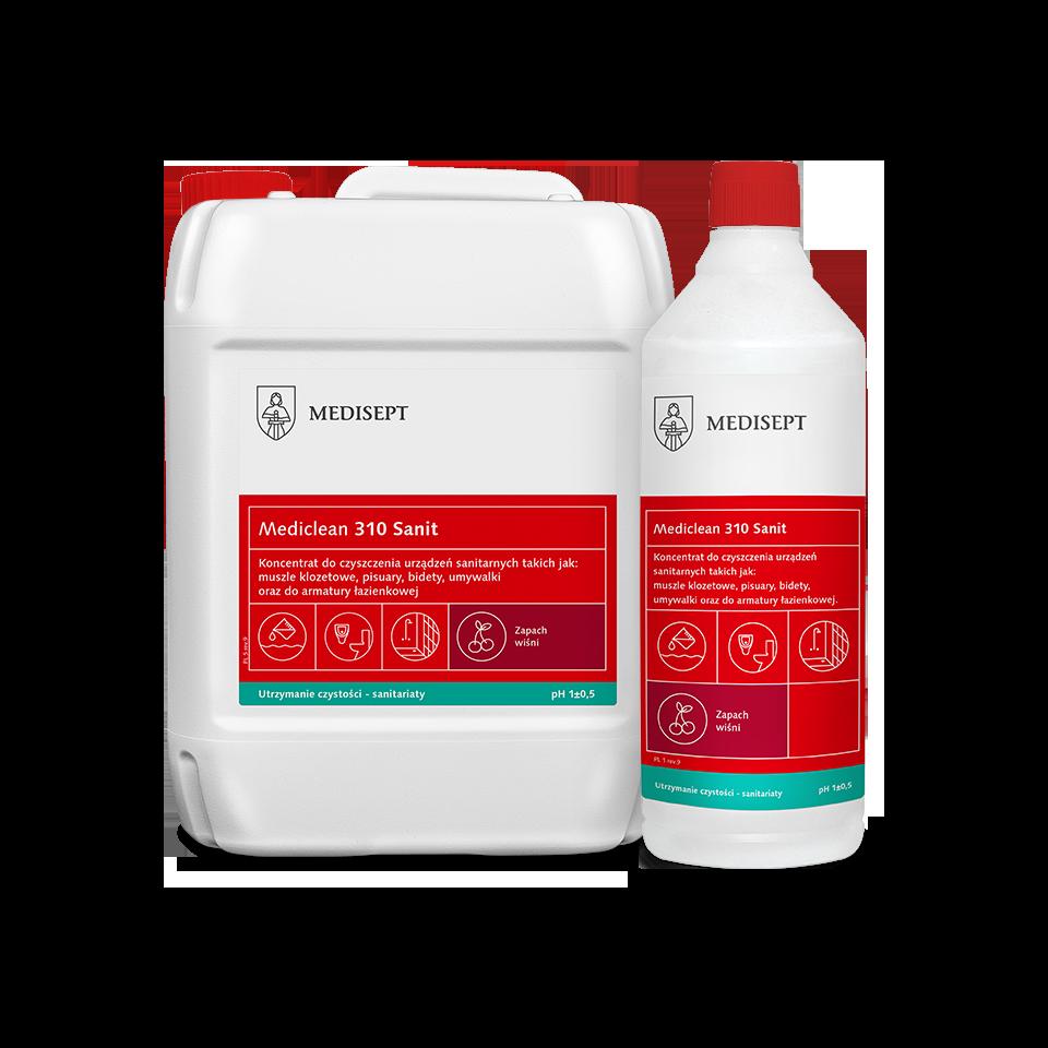 Mediclean 310 Sanit – Preparat do mycia powierzchni sanitarnych