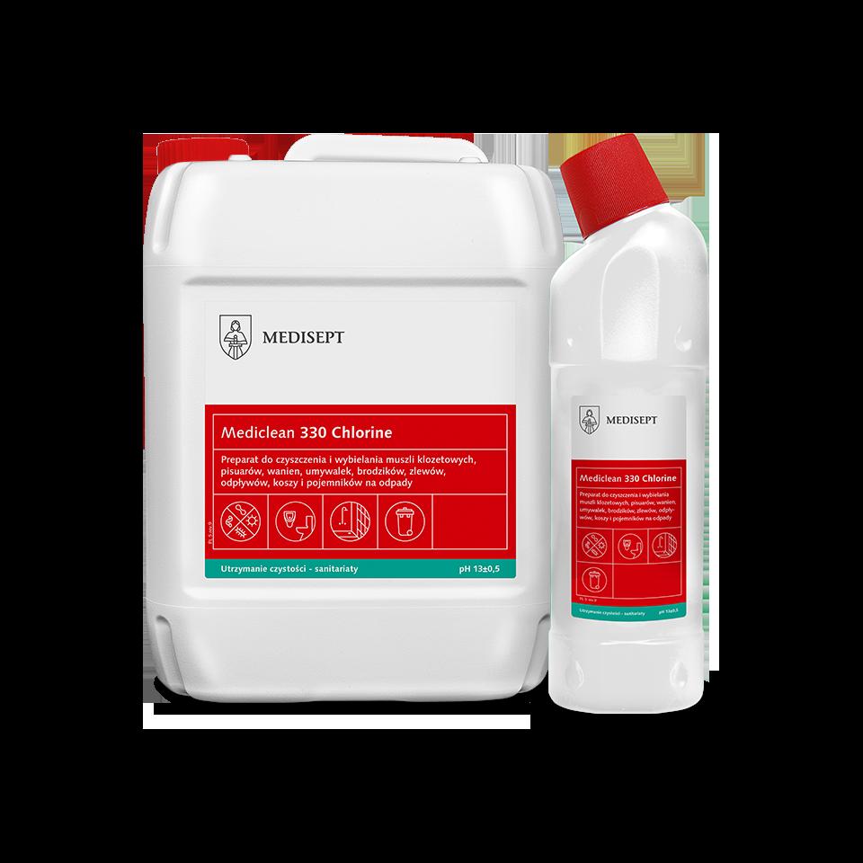 Mediclean 330 Chlorine – Preparat do czyszczenia i wybielania