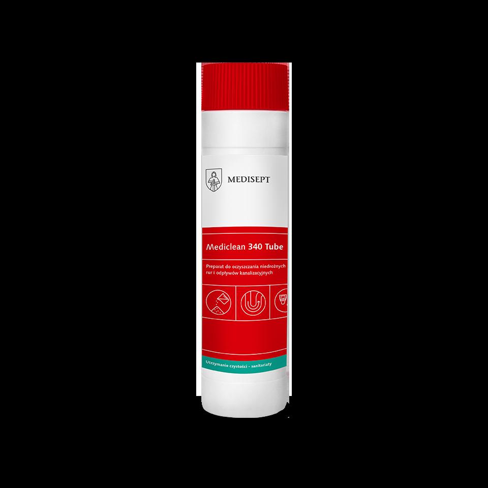 Mediclean 340 Tube – Granulat do udrażniania rur i odpływów kanalizacyjnych