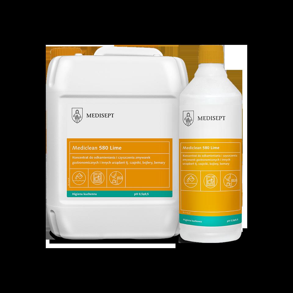 Mediclean 580 Lime – Koncentrat do odkamieniania i czyszczenia