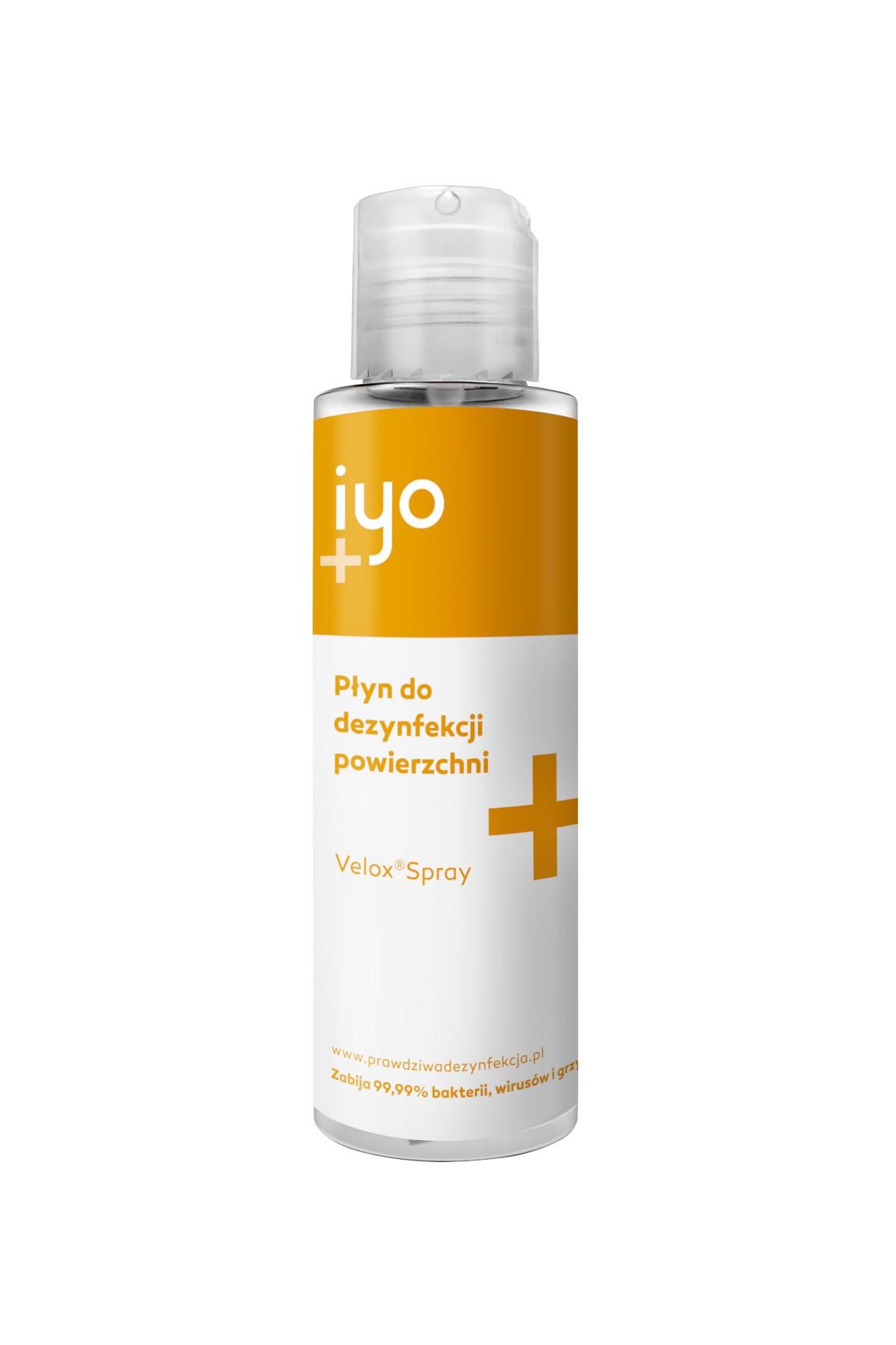 Velox Spray IYO 100ml – Spray do dezynfekcji powierzchni