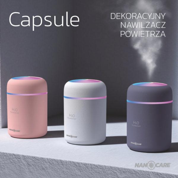 Aseptica Capsule – Nawilżacz powietrza z funkcją aromaterapii