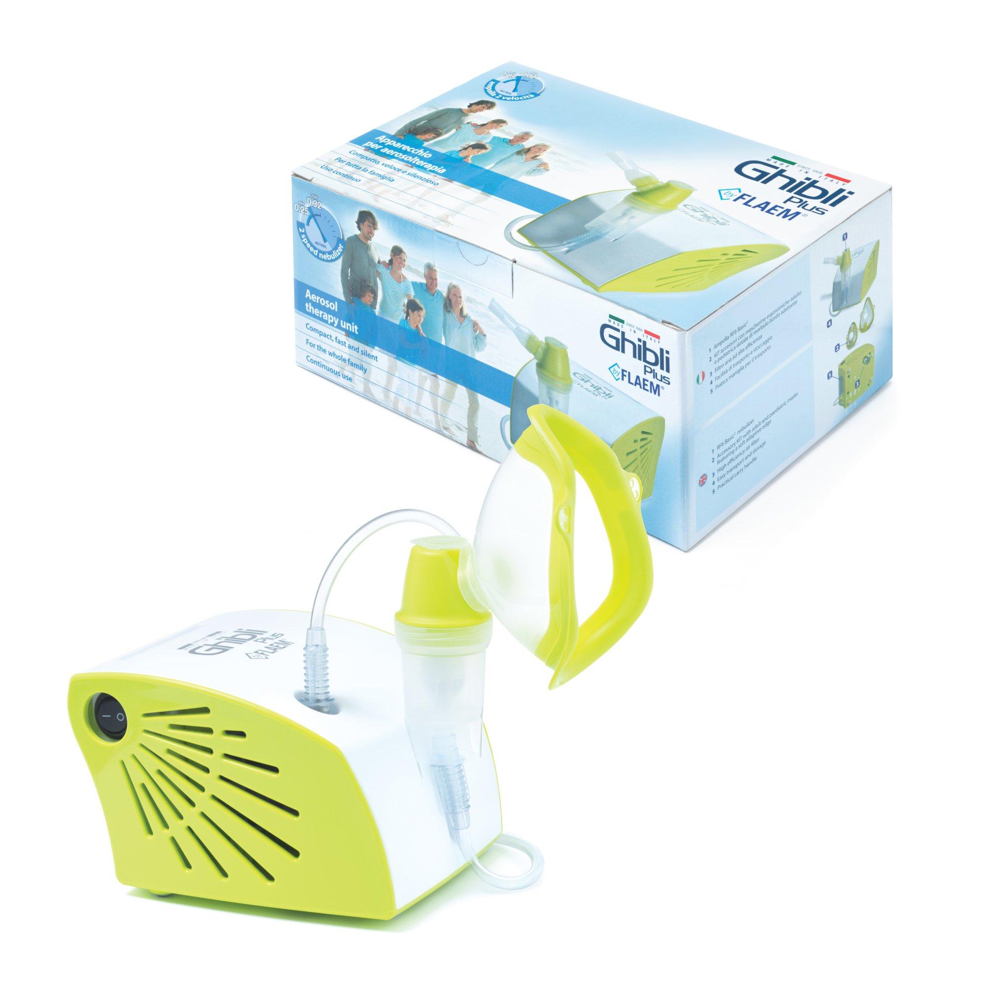 Inhalator pneumatyczno-tłokowy:Flaem Ghibli Plus
