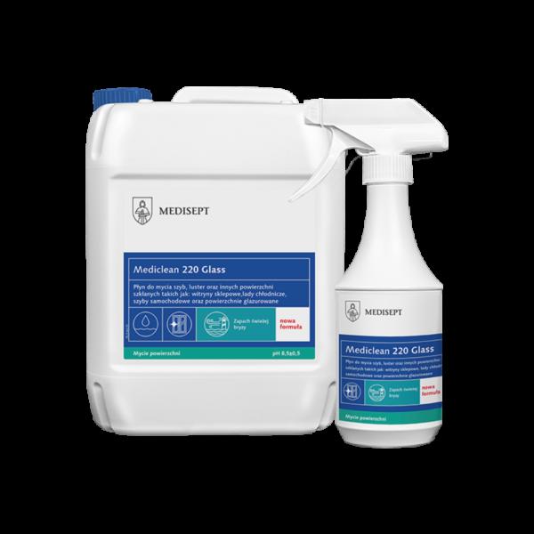 Mediclean 220 Glass – Preparat do mycia szyb i luster