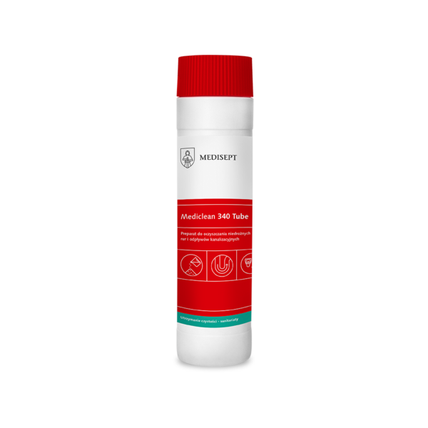 Mediclean 340 Tube – Granulat do udrażniania rur