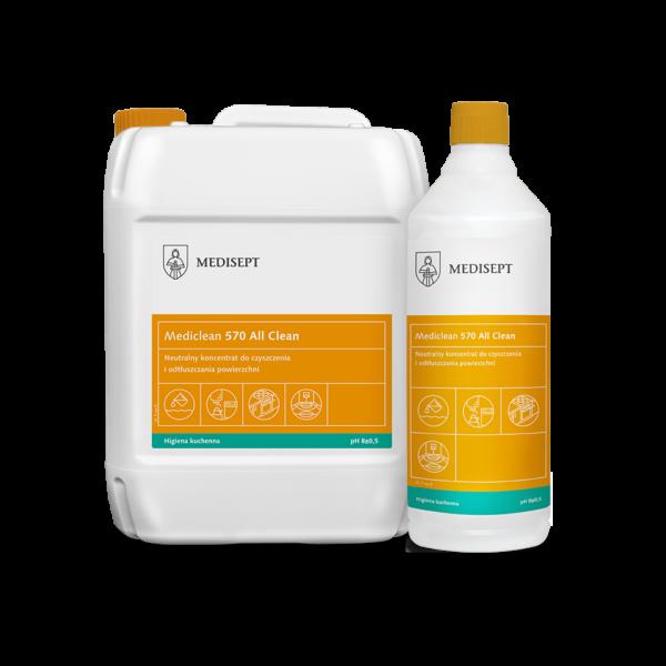 Mediclean 570 All – Skoncentrowany preparat do odtłuszczania