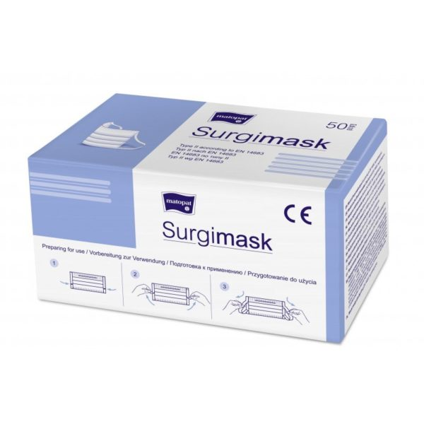 Maska medyczna 3-warstwowa