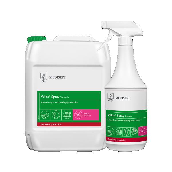 Velox Spray Neutral – Spray do mycia i dezynfekcji powierzchni