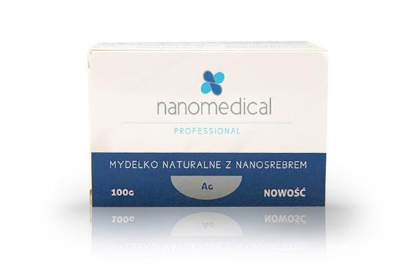 Mydełko naturalne z nanosrebrem (kostka) – Nanomedical