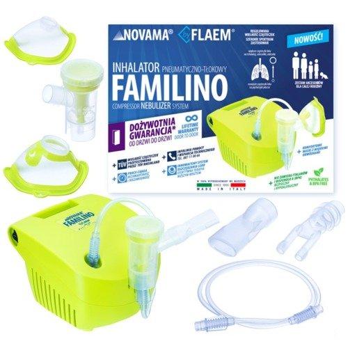 Inhalator pneumatyczno-tłokowy:Novama Familino by Flaem